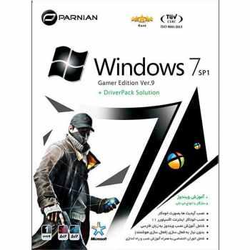 سیستم عامل Windows 7 نسخه DriverPack + SP1 Gamer edition Ver.9 نشر پرنیان