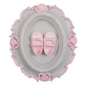 تابلو اتاق کودک طرح کفش دختر کدm508