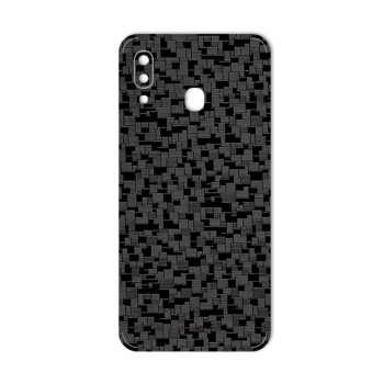 برچسب پوششی ماهوت مدل Silicon-Texture مناسب برای گوشی موبایل سامسونگ Galaxy  A20