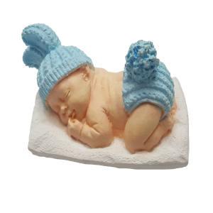 عکس گیفت تولد طرح نوزاد پسر کدM608 بسته 5 عددی