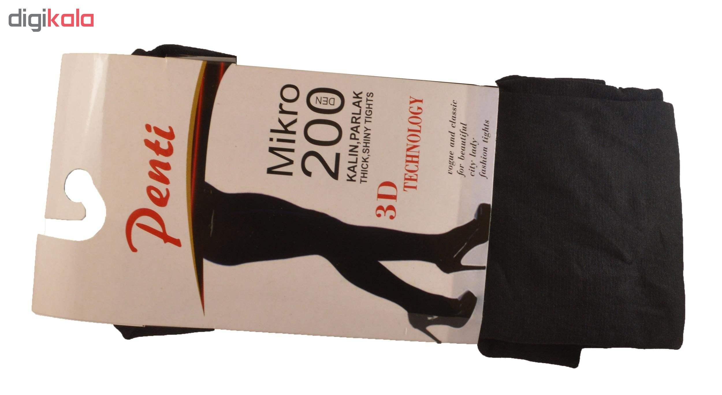 جوراب شلواری زنانه پنتی مدل  200DEN MIKRO