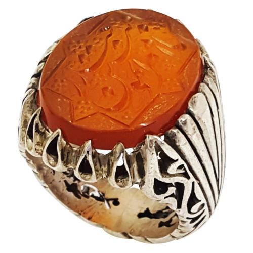 انگشتر نقره مردانه گالری احد کد 10175