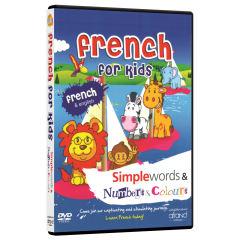 فيلم آموزش زبان فرانسوی French For Kids انتشارات نرم افزاري افرند
