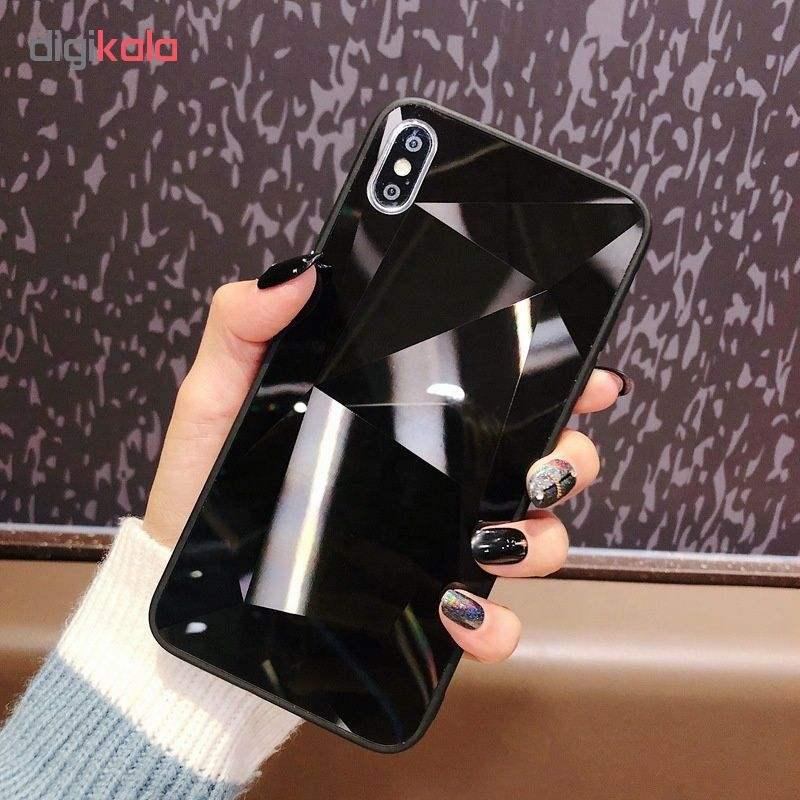 کاور طرح الماسی مدل GA223 مناسب برای گوشی موبایل اپل iPhone X/XS