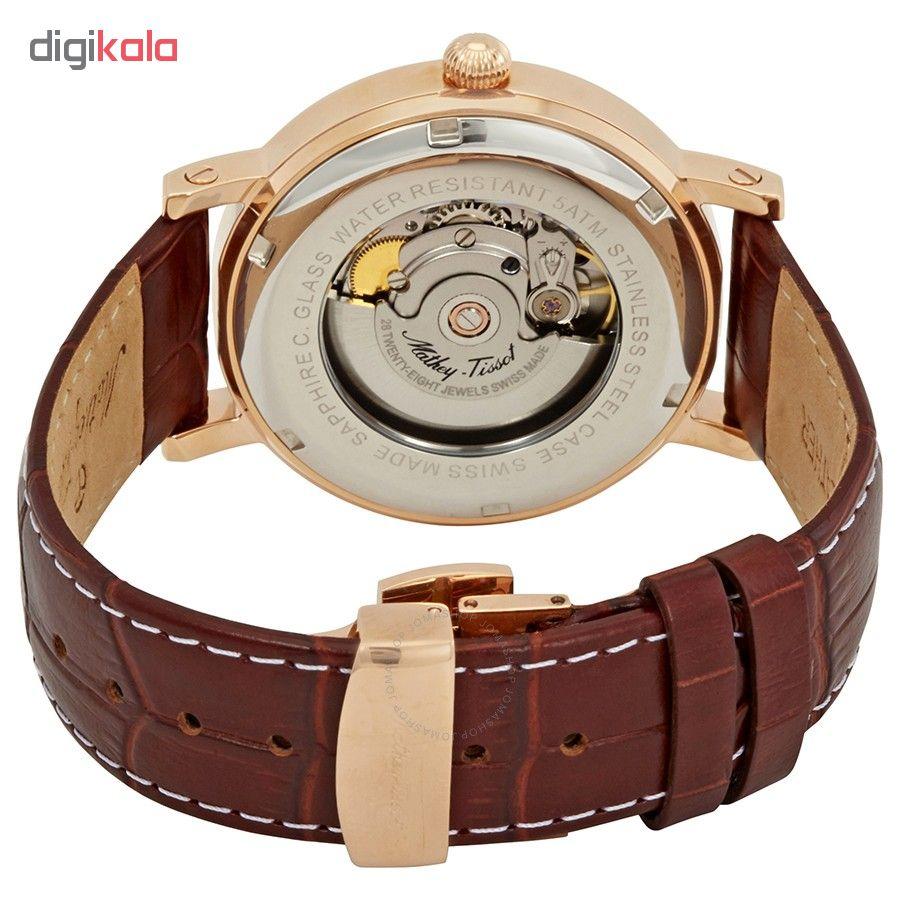 کد تخفیف                                      ساعت مچی عقربه ای مردانه متی تیسوت مدل  H611251ATPG