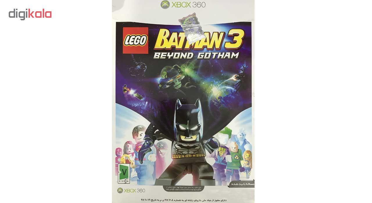 خرید اینترنتی بازی batman3 نشر موسسه رسام ایده پردازان خلاق مخصوص xbox360 اورجینال