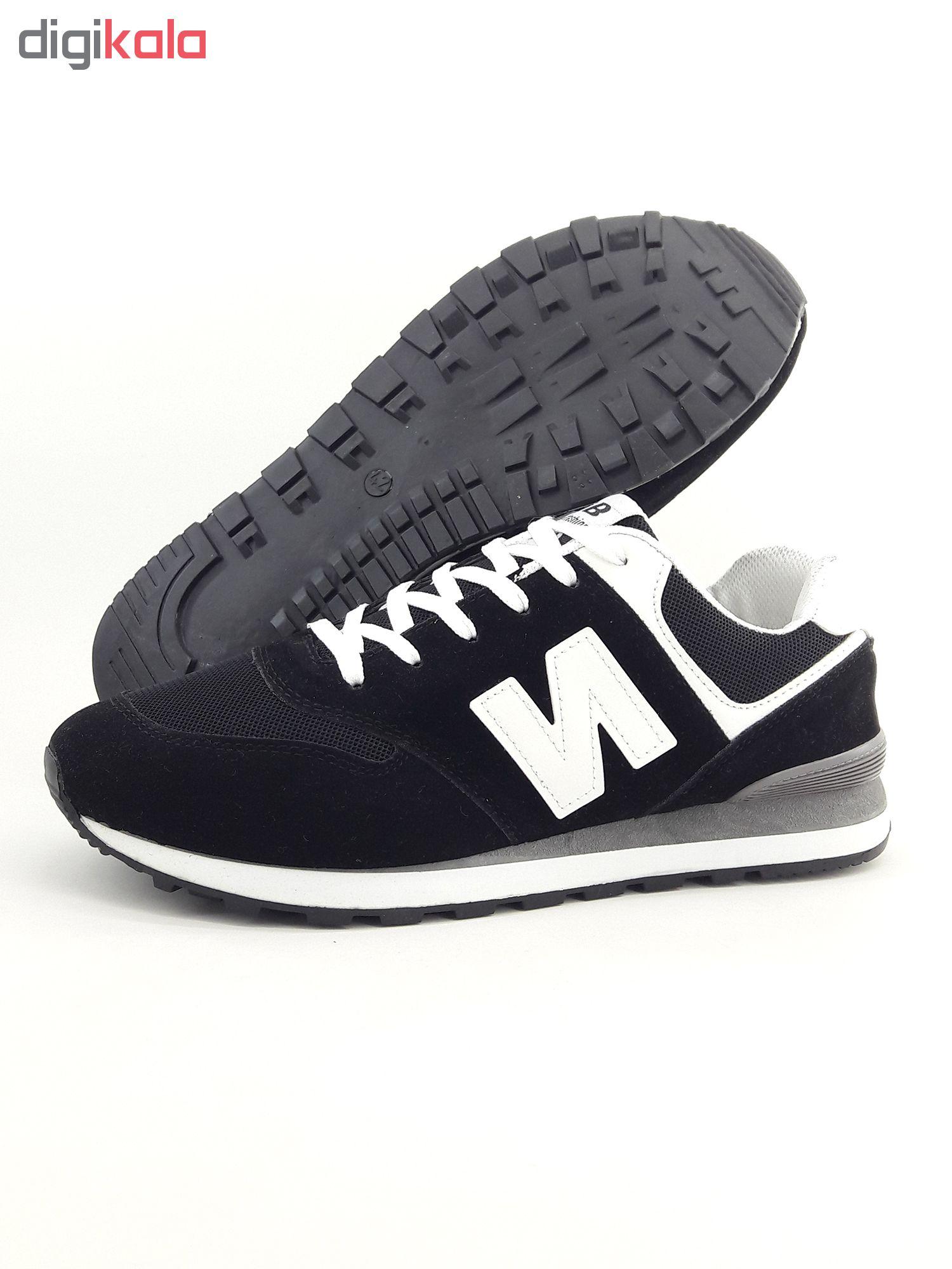 کفش مخصوص پیاده روی مردانه فشن مدل N.fsh.bl.wh-01