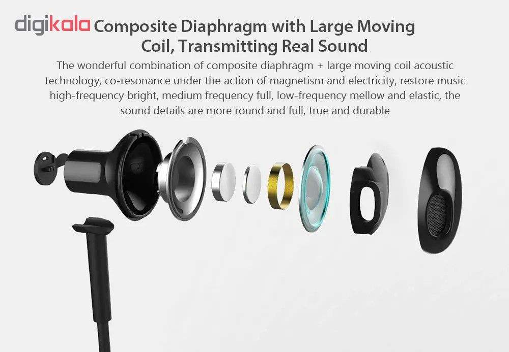 هدفون بی سیم شیائومی مدل Mi Bluetooth Neckband Earphones Basic thumb 2