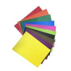 مقوا رنگی سایز ۳۴×۲۴ بسته ۲۰ عددی (۱۰ رنگ از هر کدام ۲ عدد)