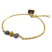 قیمت دستبند طلا 18عیار زنانه مانچو مدل bfg111