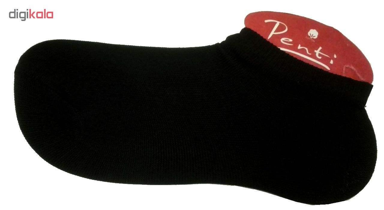 جوراب زنانه پنتی کد 901 بسته 6 عددی -  - 4