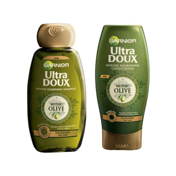 شامپو و نرم کننده گارنیه سری Ultra Doux مدل Olive Oil