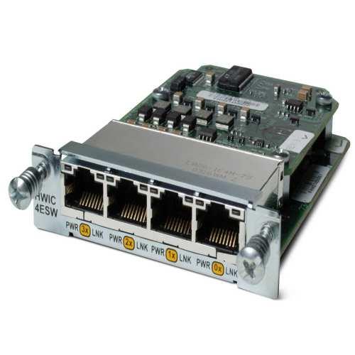 ماژول Ethernet سیسکو مدل HWIC-4ESW