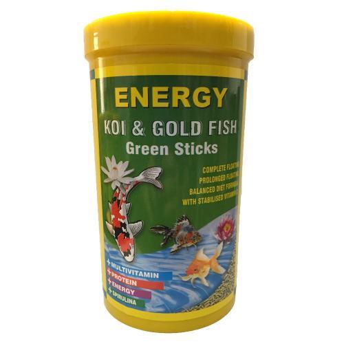 غذا ماهی انرژی مدل KOI & Gold fisf Green sticks حجم 1000 میلی لیتر