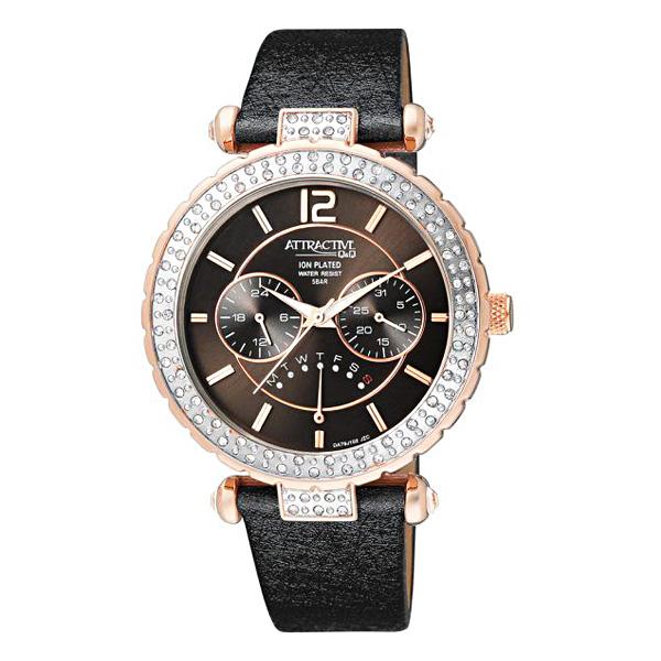 ساعت مچی عقربه ای زنانه کیو اند کیو مدل DA79J102Y
