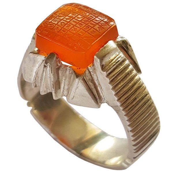 انگشتر نقره مردانه مدل a306jw