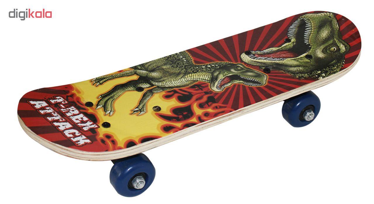اسکیت بورد بچگانه مدل T-Rex Attack