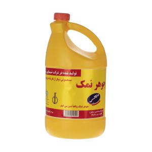 مایع جوهر نمک وایتکس مدل زرد مقدار 4000 گرم