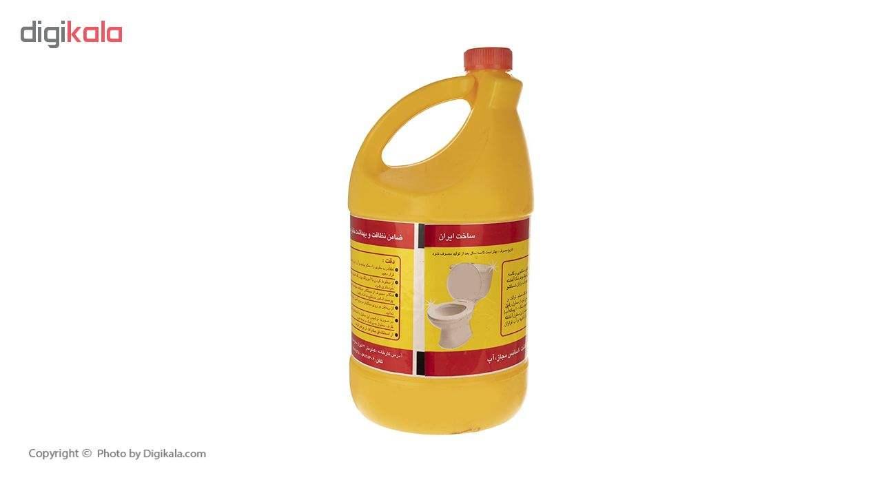 مایع جوهر نمک وایتکس مدل زرد مقدار 4000 گرم main 1 3