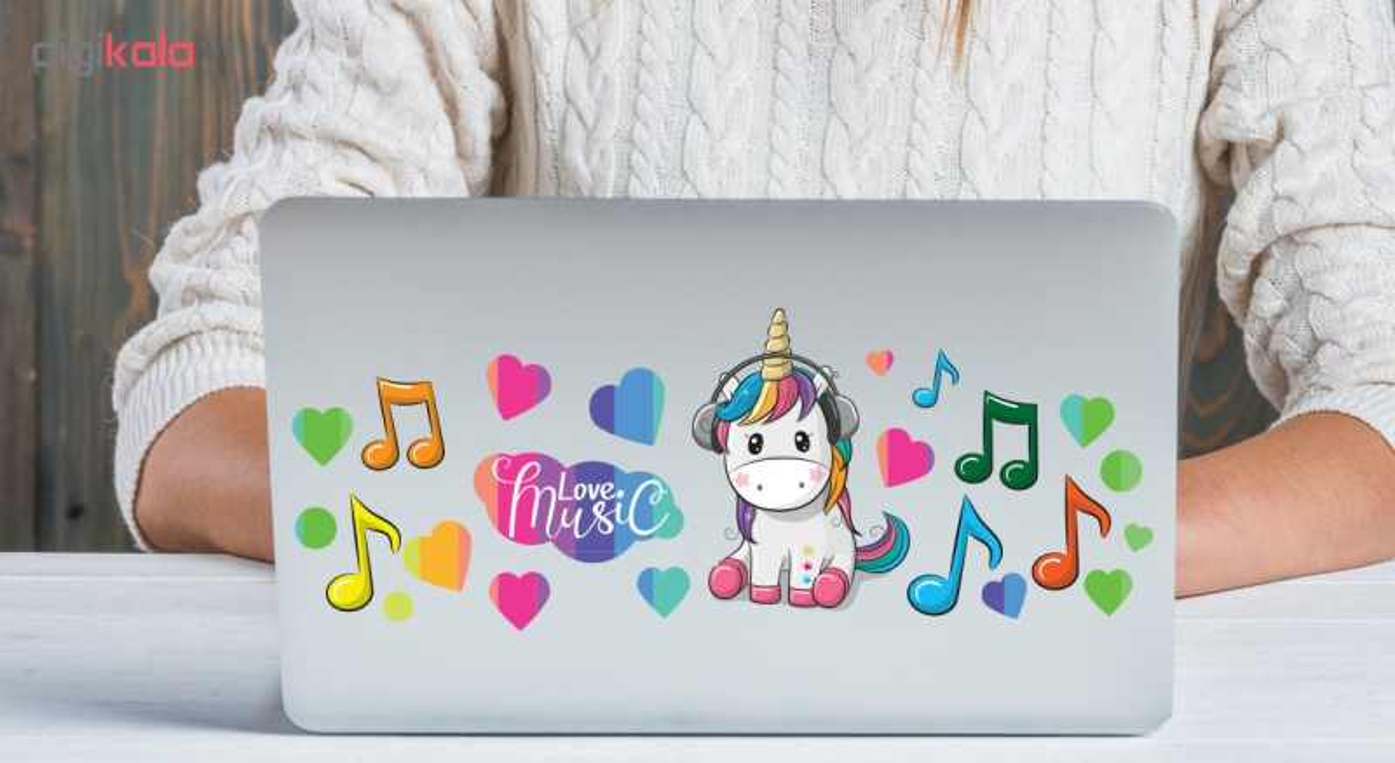 استیکر لپ تاپ صالسو آرت مدل 04 hk به همراه برچسب کیبورد main 1 2