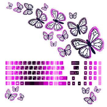 استیکر لپ تاپ صالسو آرت کد 07  به همراه برچسب کیبورد