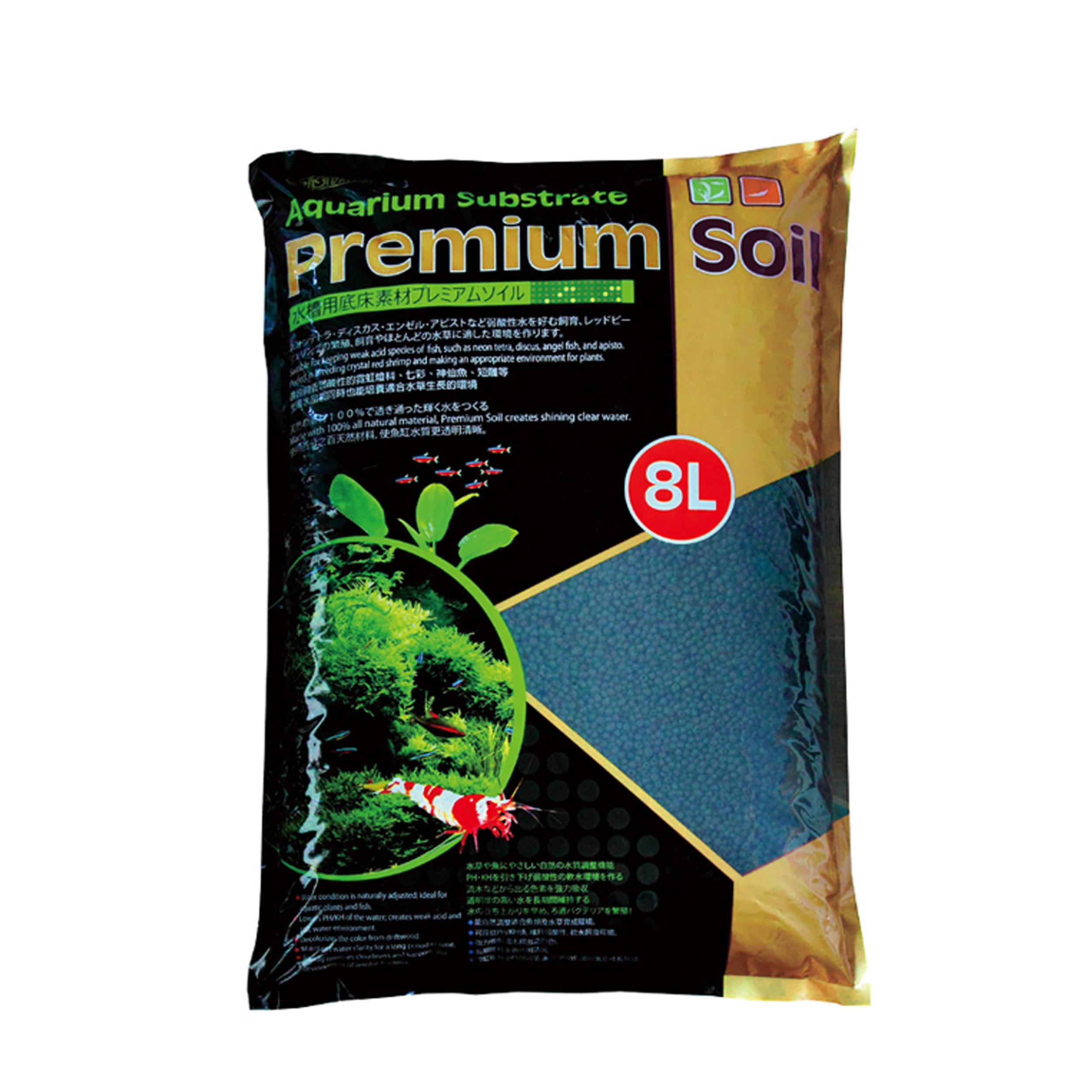 خاک آکواریوم مدل پریمیوم  کد 12 حجم 8 لیتر