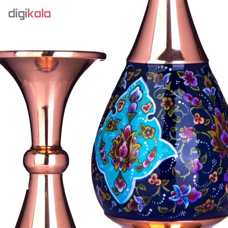 Copper Enamel vase, 26 Model. code 7550129
