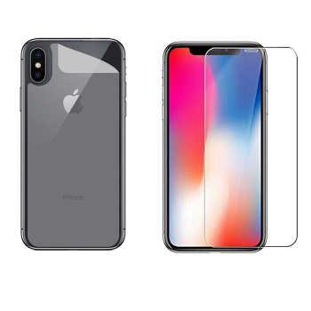 محافظ صفحه نمایش و پشت گوشی  کد 01 مناسب برای گوشی موبایل اپل Iphone X/ Xs