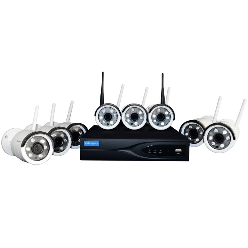 سیستم امنیتی تحت شبکه ویدئوپارک مدل VP-4008
