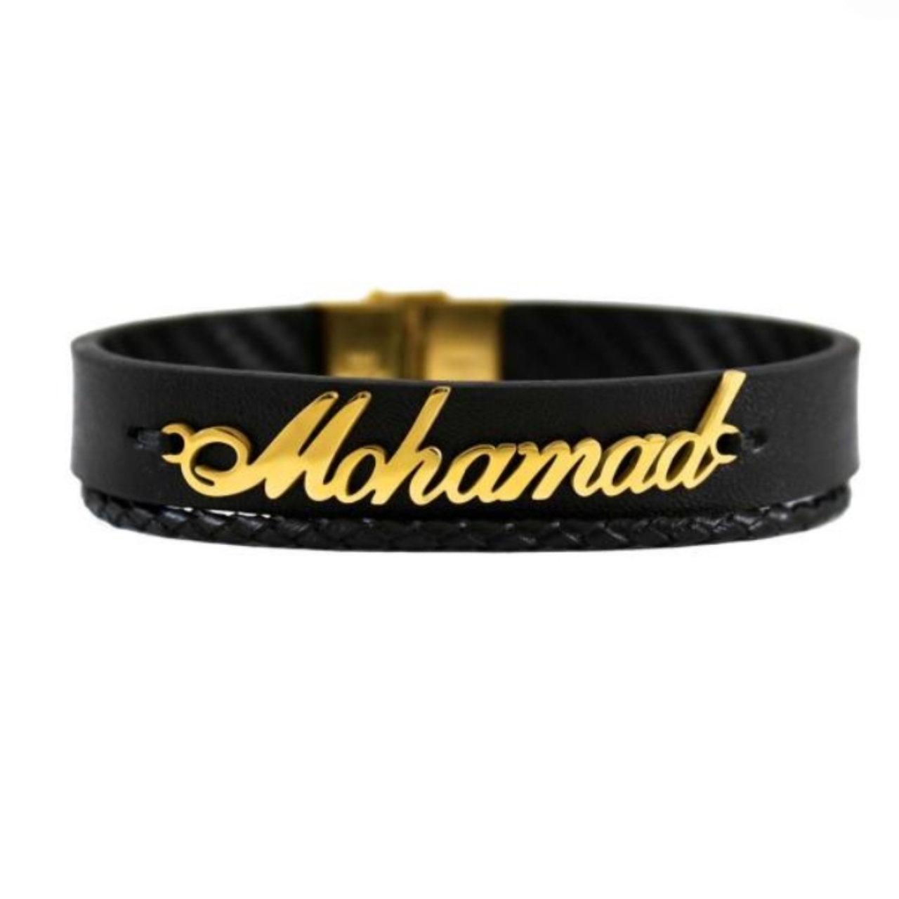 دستبند نقره مردانه