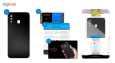 برچسب پوششی ماهوت مدل Black-Color-Shades مناسب برای گوشی موبایل سامسونگ Galaxy A30 thumb 5