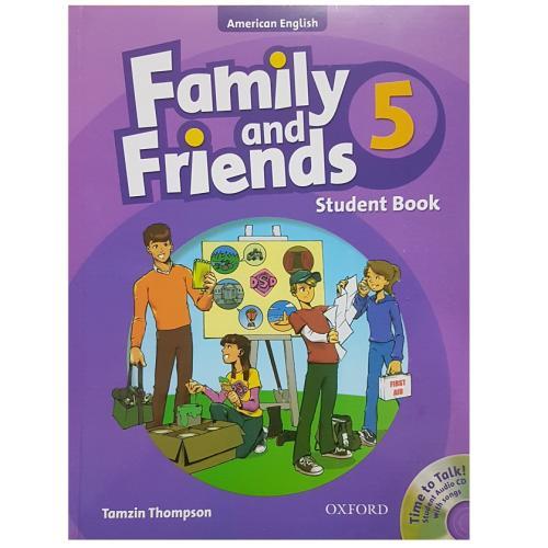 کتاب زبان Family And Friends 5 - Student Book اثر Tamzin Thompson انتشارات Oxford