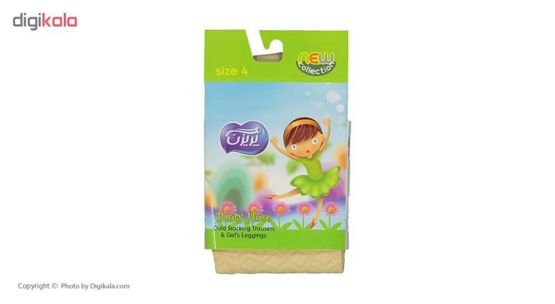 جوراب شلواری نوزادی پریزن کد KR01