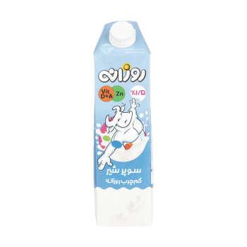 سوپر شیر کم چرب روزانه - 1 لیتر