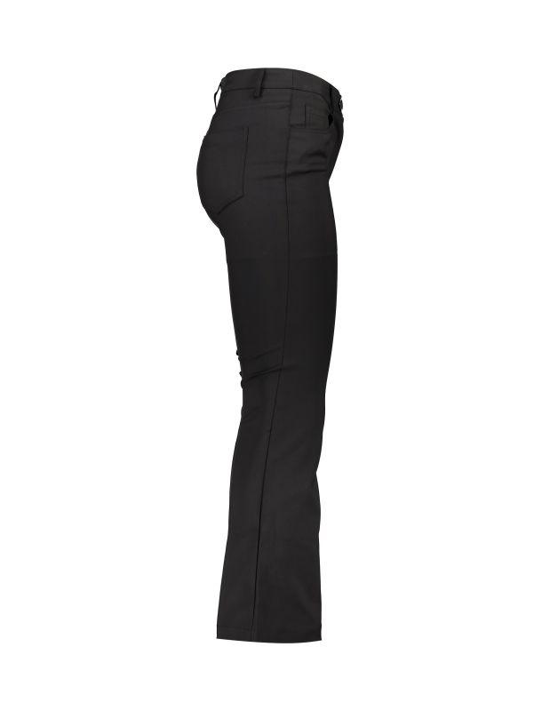 شلوار جین دمپا گشاد زنانه - یو یو - مشکي - 2