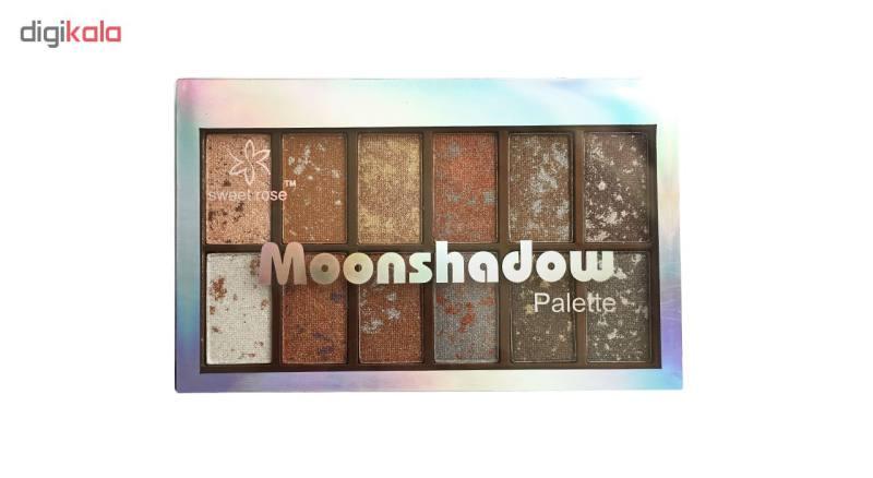 پالت سایه چشم سوئیت رز مدل Moon Shadow شماره 2