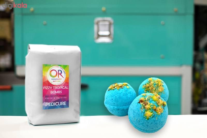 کوکتل نمک حمام اور مدل Blueberry وزن 300 گرم بسته 3 عددی