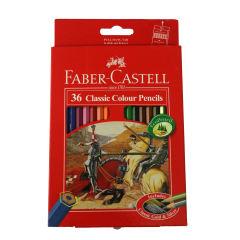 مداد رنگی 36 رنگ فابر-کاستل مدل Classic 561