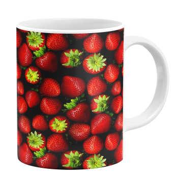 ماگ طرح توت فرنگی کد 1105330