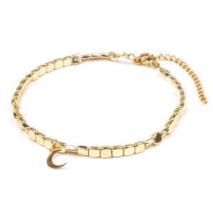 پابند طلا 18 عیار زنانه ریسه گالری مدل Ri3-H2024
