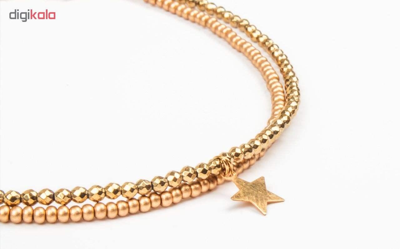 پابند طلا 18 عیار زنانه ریسه گالری مدل Ri3-H2026 main 1 3