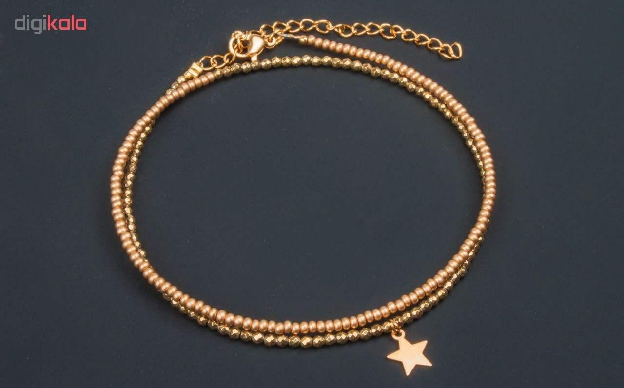 پابند طلا 18 عیار زنانه ریسه گالری مدل Ri3-H2026 main 1 4