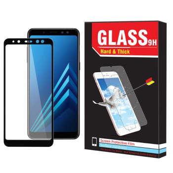 محافظ صفحه نمایش hard and thick مدل F-001 مناسب برای گوشی موبایل سامسونگ Galaxy A8 2018 thumb