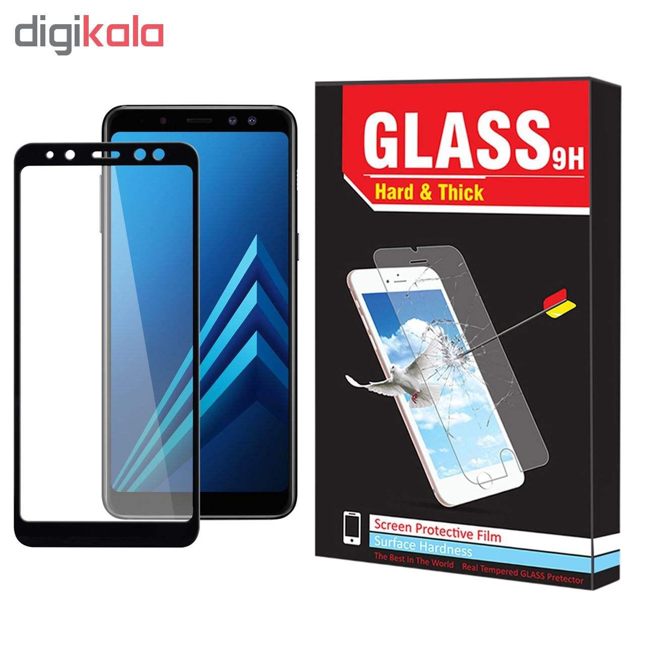 محافظ صفحه نمایش hard and thick مدل F-001 مناسب برای گوشی موبایل سامسونگ Galaxy A8 2018 main 1 1