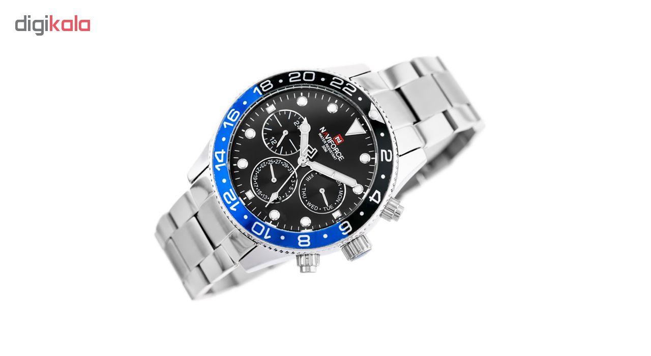 ساعت مچی عقربه ای مردانه نیوی فورس مدل NF9147 / SB