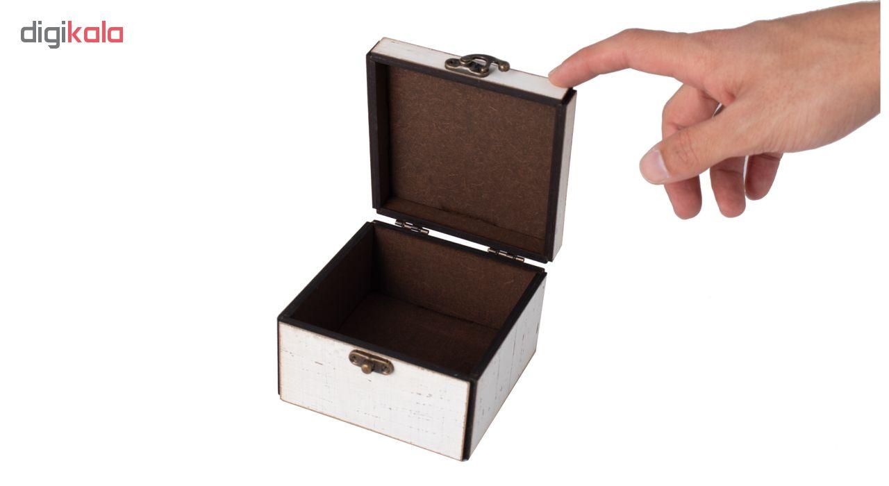 جعبه لوازم آرایشی طرح شاه دخت کد SH-3-19