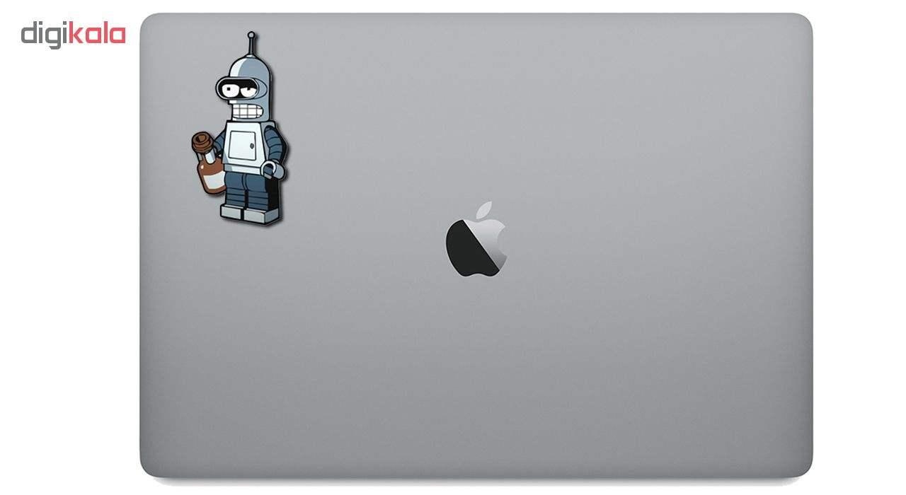 استیکر لپ تاپ طرح ربات کد 447 thumb 2