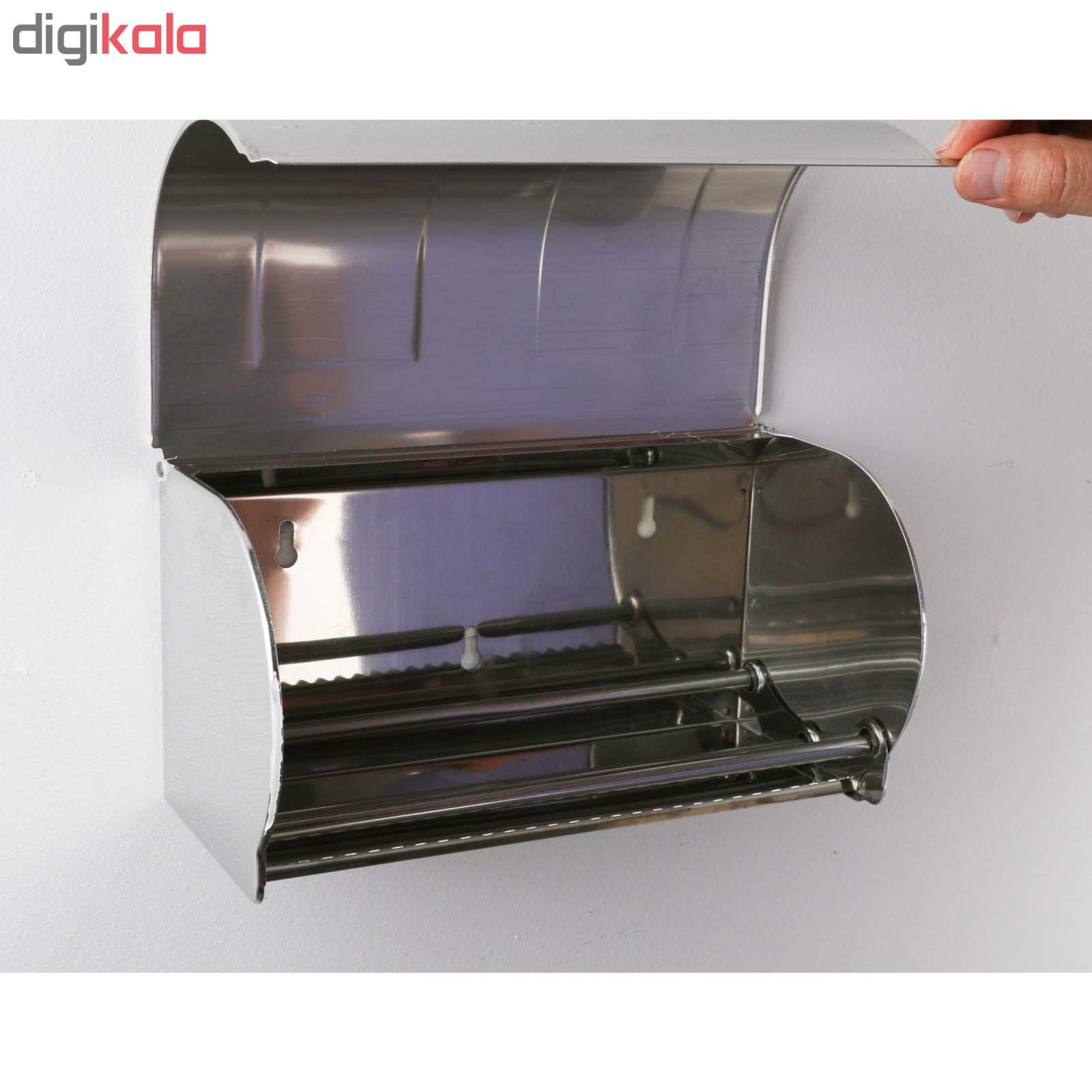 پایه رول دستمال کاغذی دلفین مدل K18-C main 1 5