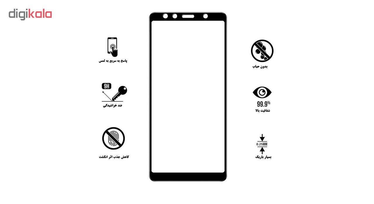 محافظ صفحه نمایش تراستکتور مدل GSS مناسب برای گوشی موبایل سامسونگ Galaxy A7 2018 thumb 6