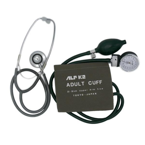 فشارسنج عقربه ای آلپیکادو مدل ALPK2 به همراه گوشی طبی مدل FT-801